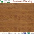 8mm Wenge Pattern Crystal Surface Laminated Wooden Laminate Flooring 5