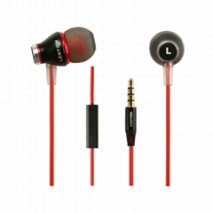 LENTION 1.2m High Performance I300 Remote Mic In-Ear Headphones