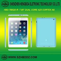 "HBD-780QD-R 7.85"" 雙核平板電腦"