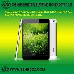 "HBD-783MB 7.85"" 四核3G通話平板電腦"