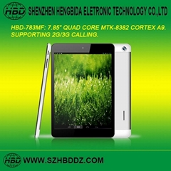 "HBD-783MF 7.85"" Quad Core Tablet PC"