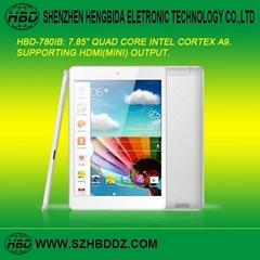 HBD-780IB 7.85寸INTEL四核平板電腦