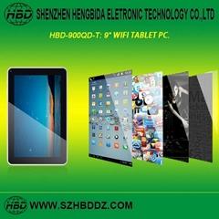 HBD-900QD 9寸雙核單WIFI平板電腦