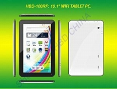 HBD-100RF 10.1寸雙核單WIFI平板電腦