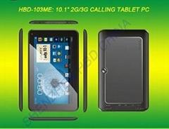 HBD-103ME 10.1寸雙核3G通話平板電腦