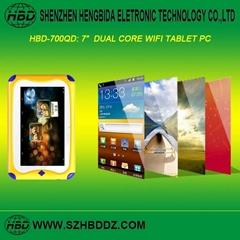"""HBD-700QD 7"""" 雙核單WIFI儿童平板電腦"""