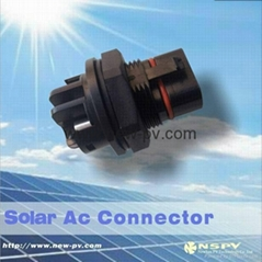 AC5 cores connector for solar inverter