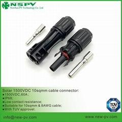 1500VDC光伏PV4.0线端10平方连接器