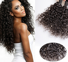 factory price 7A black color brazilian water wave, remy hair ,human hair curtain