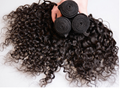 factory price 7A black color brazilian water wave, remy hair ,human hair curtain 5