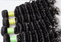 wholesale 6A Brazilian Deep Wave Virgin Hair 100g fatory price 2