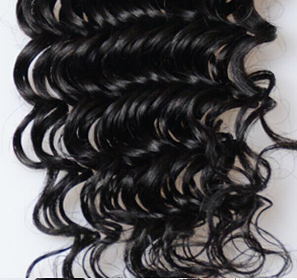 wholesale 6A Brazilian Deep Wave Virgin Hair 100g fatory price 4