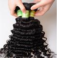 wholesale 6A Brazilian Deep Wave Virgin Hair 100g fatory price 5