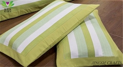 Quality Green handmade cotton bedding sets bedclothes breathable massage comfort