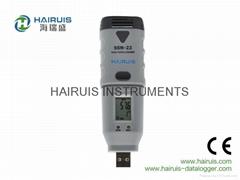 USB 便攜式溫濕度記錄儀