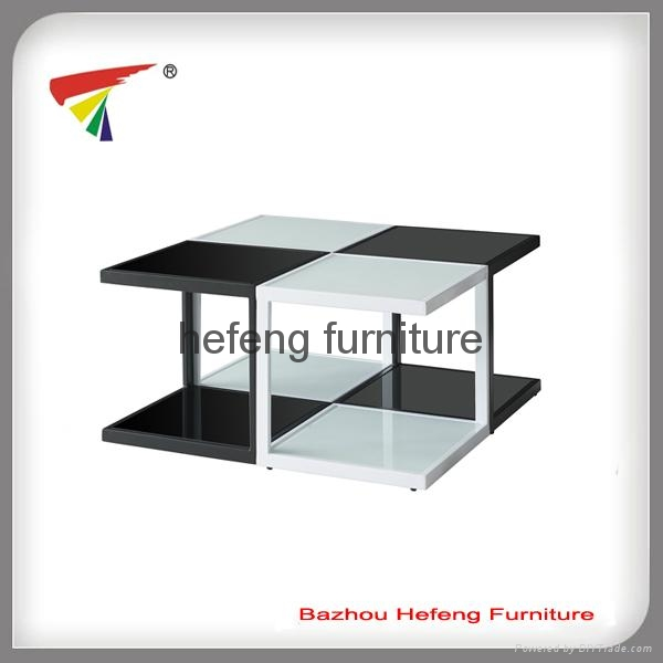 Glass Coffee Table,4 small tables together 1