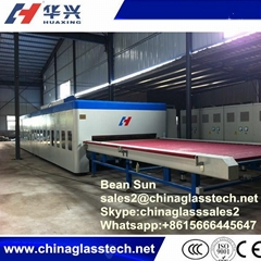 Horizontal Flat Building Glass Tempering Furnace Made In China