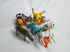 customer design doll figures for vending capsules toy