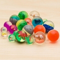 bouncing ball, rubber bouncing ball,