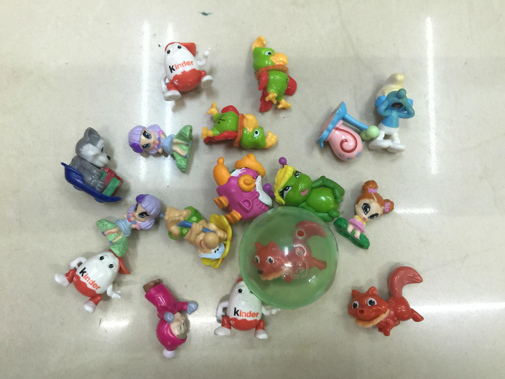 kinds of 3D action figures for vending machine  capsules toy