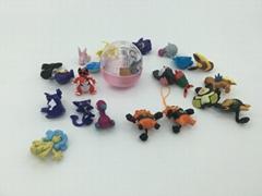 capsules toy-168 models Pokemon dangler