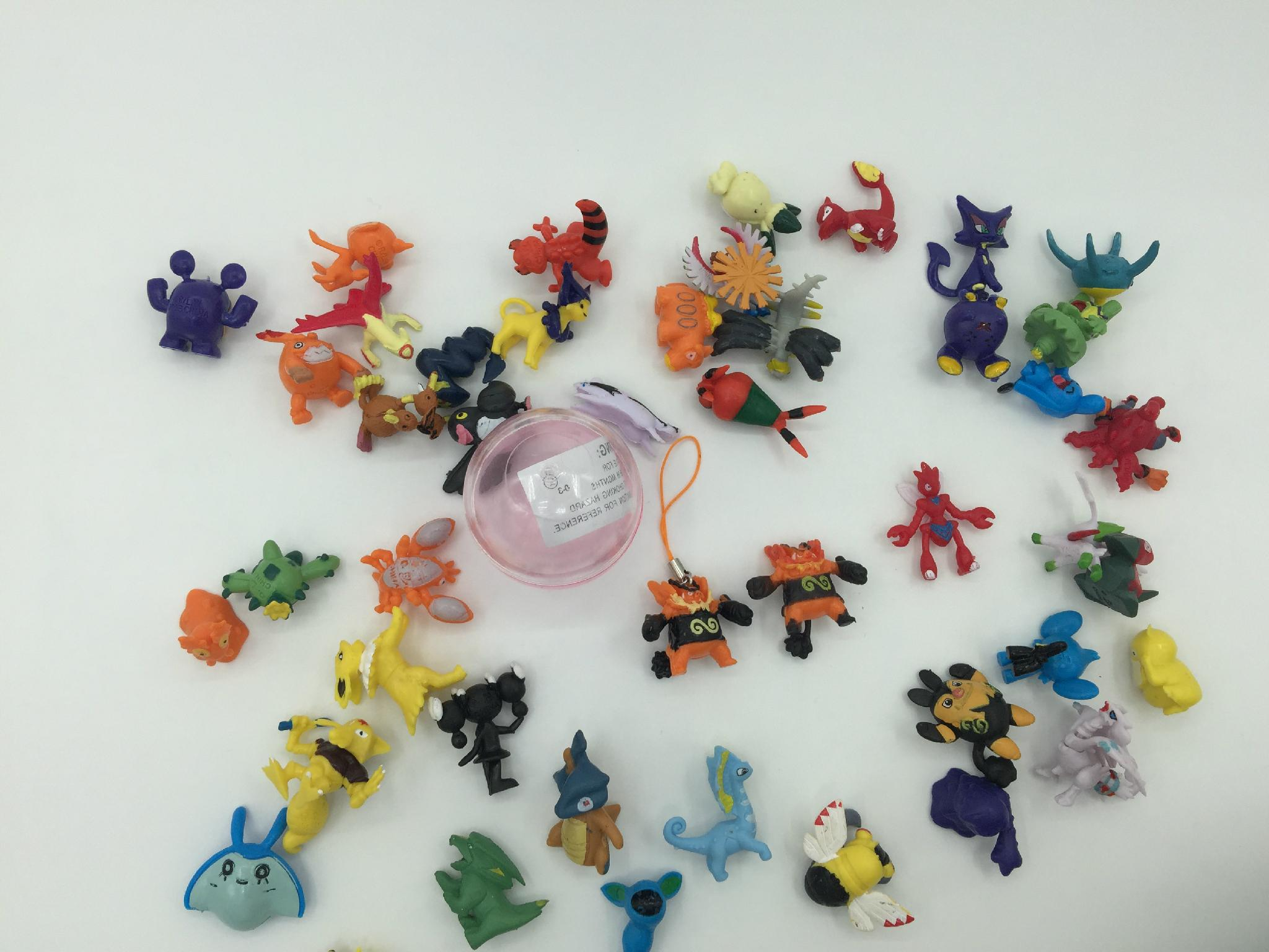 capsules toy-168 models Pokemon dangler 2