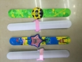 capsule toy slap bracelet/clap watch in animal character shape
