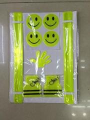reflective  slap band/sticker/tape