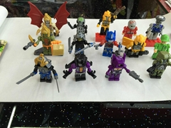 the Transformer buildable mini figures