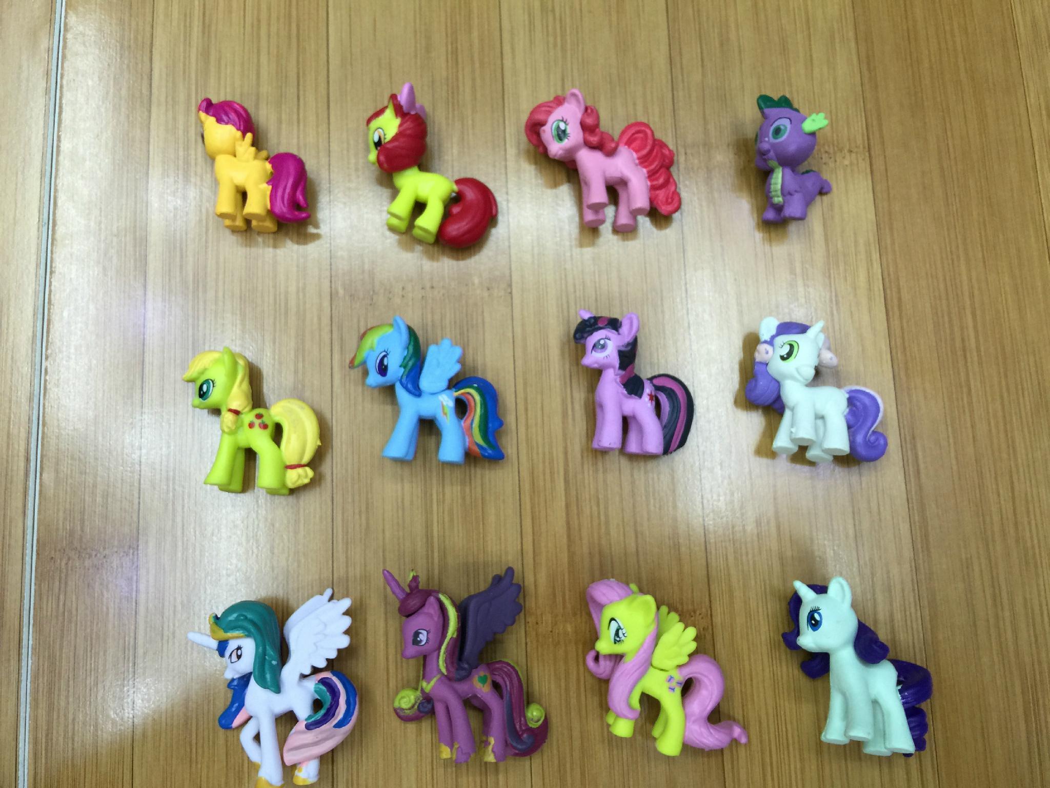 my little pony PVC 3D figure 1