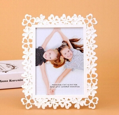 "hollow-out flower 4x6"" 5x7"" 6x8"" 8x10"" plastic photo frame (Hot Product - 1*)"