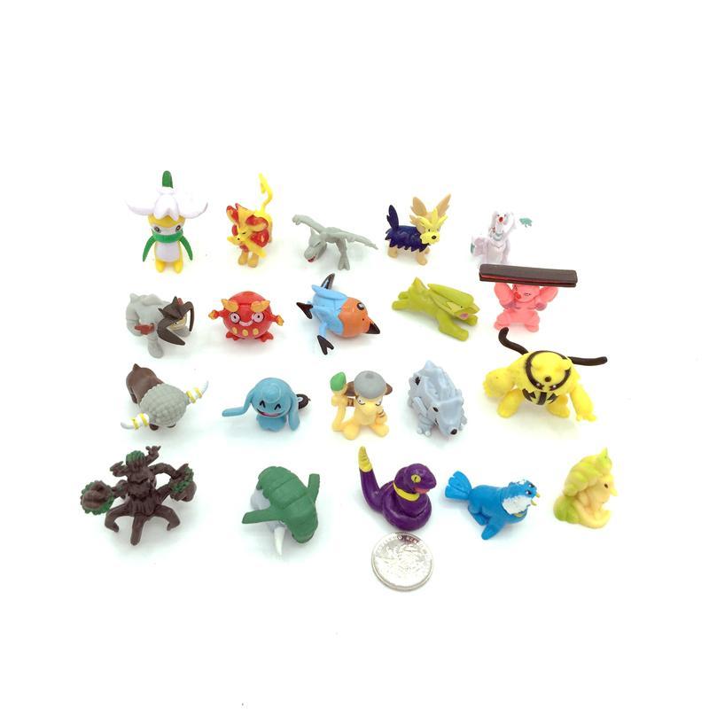 "2"" Capsuled Pokemon Mini Figure Collection 3"