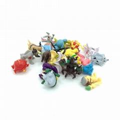 "2"" Capsuled Pokemon Mini Figure Collection"