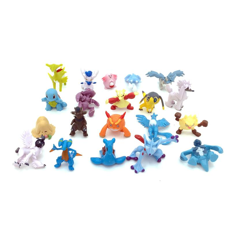 "2"" Capsuled Pokemon Mini Figure Collection 2"