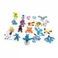 "2"" Capsuled Pokemon Mini Figure Collection 3"