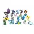 "2"" Capsuled Pokemon Mini Figure Collection 2"