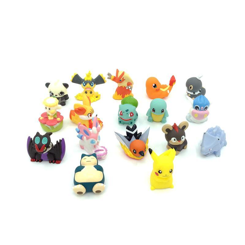 Stocklot Hollow-out  Pokemon Mini Figure Collection 1