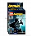Buildable toy Batman figure Lego type
