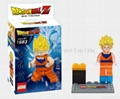 Buildable toy Dragon ball figures Lego type
