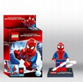 Buildable Toy Spiderman Figures Lego type