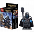 Buildable Guardians of Galaxy Lego type Figurines