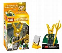 DIY Heroes Assemble-lego