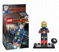 Buildable Iron Man Action Figures Bricks Lego Campatible Building Blocks