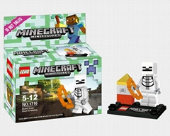 Minecraft Minifugures Bricks
