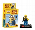Lego Compatible Minions Building Blocks