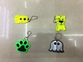 kinds of reflective dangler and keychains