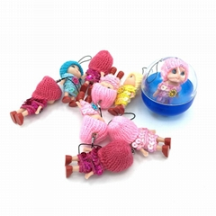 capsules plush dolls toy dangler