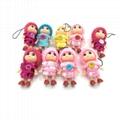 capsules plush dolls toy dangler 2