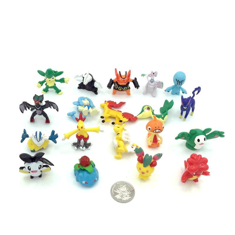 2-3cm PVC Pokemon figure 1