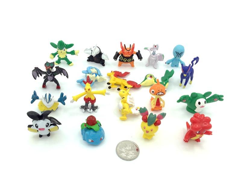 2-3cm PVC Pokemon figure 3